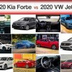 2020 Kia Forte vs. 2020 Volkswagen Jetta Comparison